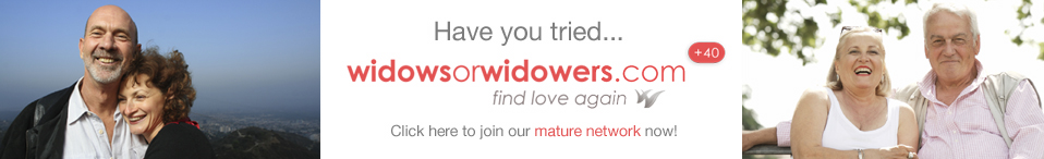Join widows or widowers mature GOING TO for FREE